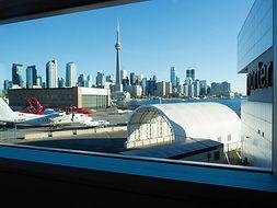 Toronto skyline, viewed from Billy Bishop Airport