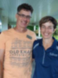 winemakers David Johnson and Louise Engel, Featherstone Winery, Jordan, Ontario, Canada