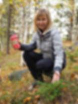 Tina McCaffrey, walking trail