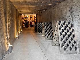 cellar entrance, Creekside Winery, Jordan, Ontario, Canada
