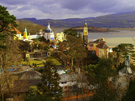 How I made this photo of Port Meirion, Wales