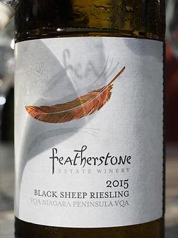 Black Sheep Riesling, Featherstone Winery, Jordan, Ontario, Canada