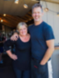 chefs Jacquelene and Steve del Col, zooma caters, Jordan, Ontario, Canada