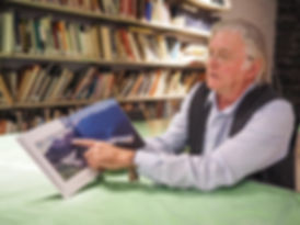 Jon Butler, man with book
