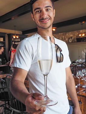 sommelier Jèrome Leclêrc, Westcott Winery, Jordan, Ontario, Canada