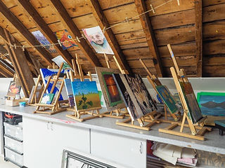 student paintings