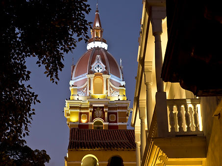 cathedral, Cathedral of Saint Catherine of Alexandria, Cartagena, Colombia. jpg