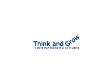 Neue Webseite - think-and-grow.ch