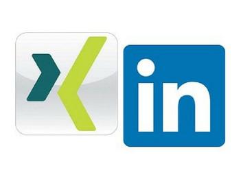 Unternehmensseite auf Xing und LinkedIn