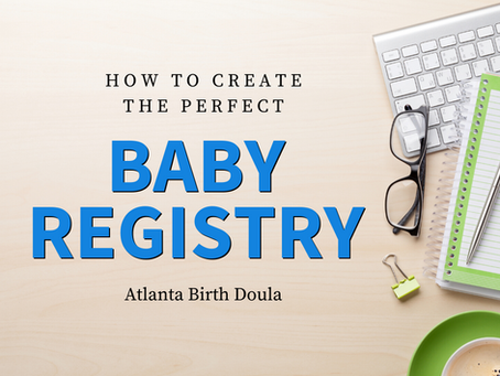 How to Create the Perfect Baby Registry