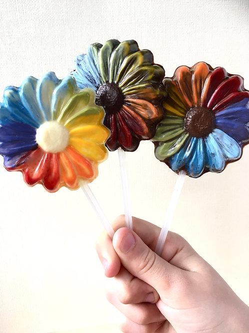 The lollipop 'Ça va bien aller'