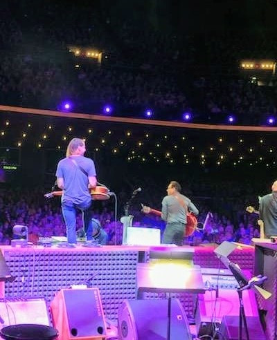 Playing at the Grand Ol' Opry!