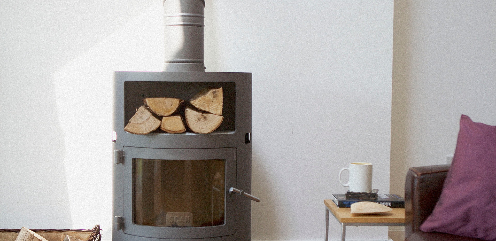 Beaver Brook log burner