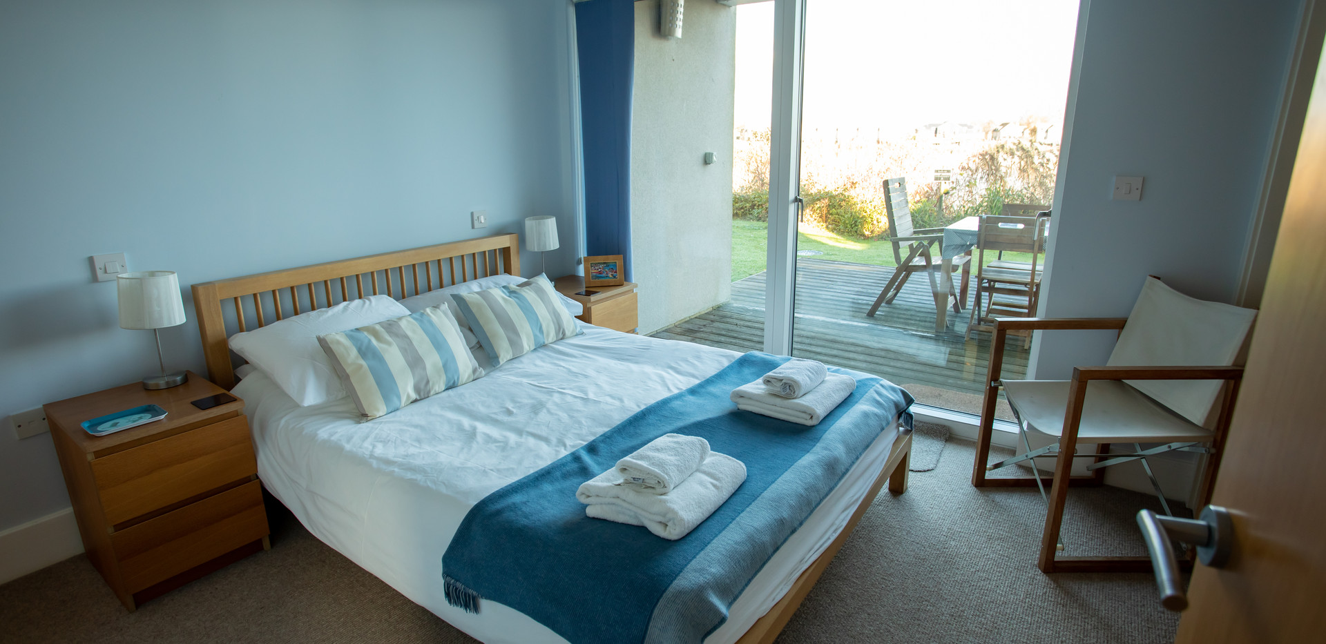 Sandpipers downstairs double bedroom