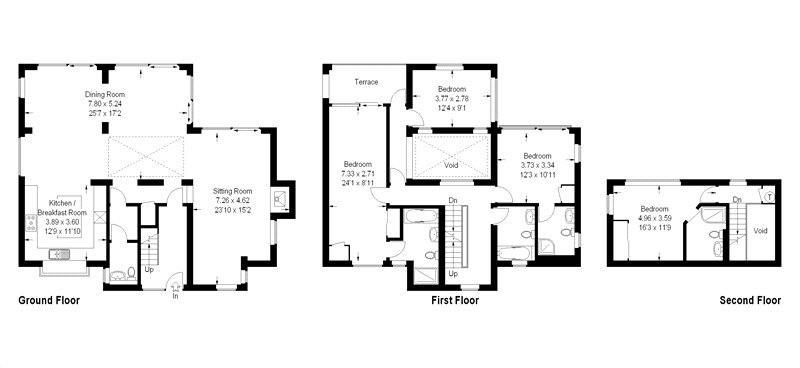 Dunnock House floorplan