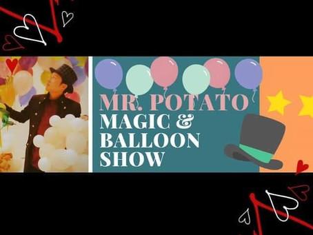 長野県からマジックとバルーンアートのショーを