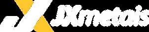 JX Metais Logo Branco