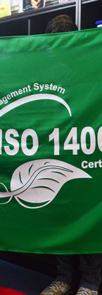 Bandera Certificado ISO 14001