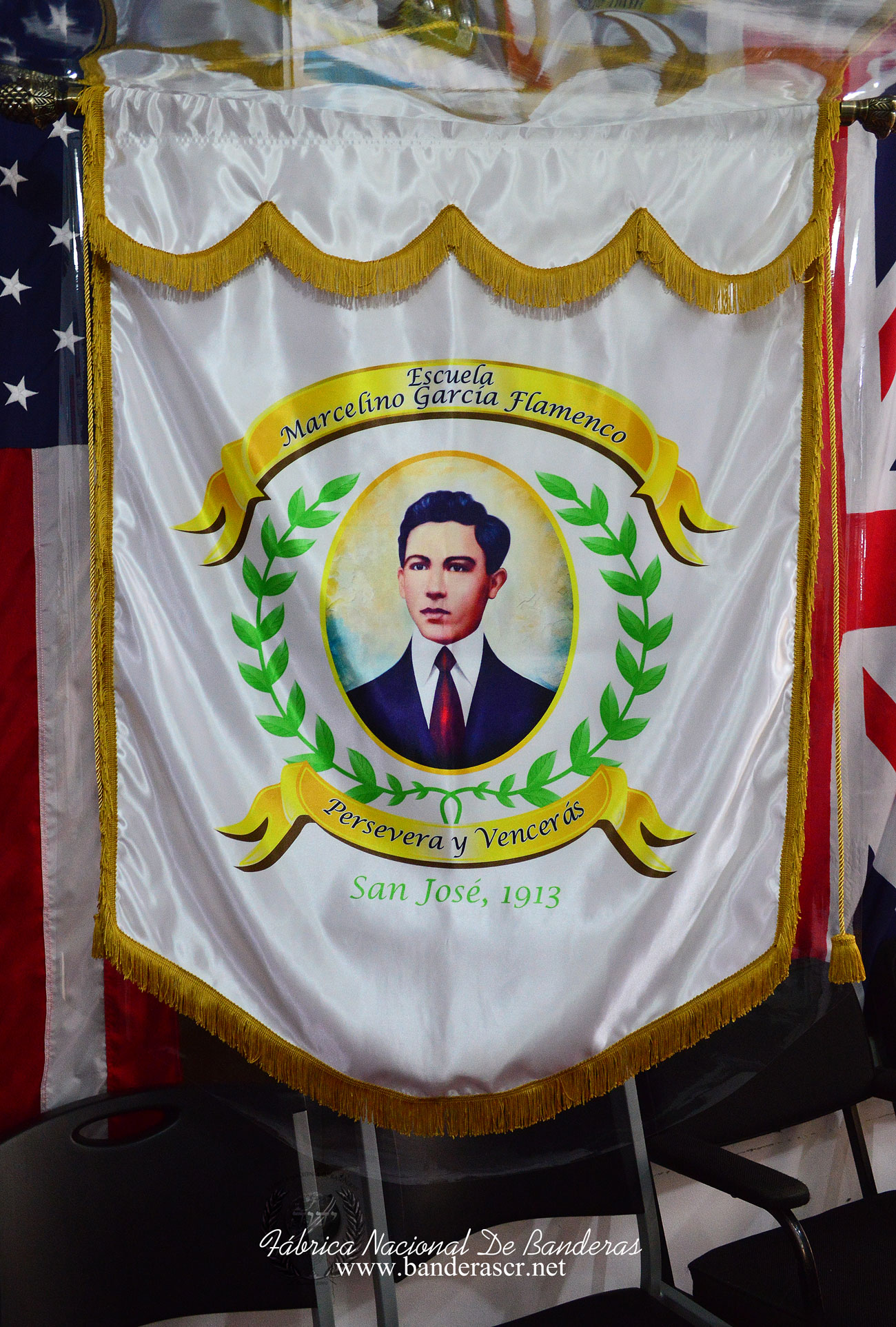 Fabrica Nacional De Banderas   Estandarte escuela
