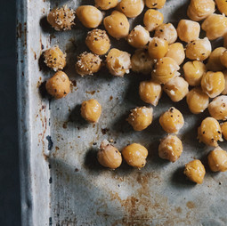 Italian roasted chickpeas
