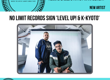 VERY proud to announce the signing of 'Level Up! & K-Kyoto'