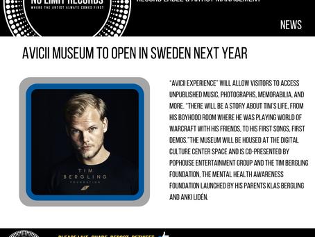 Avicii Museum to Open in Sweden Next Year