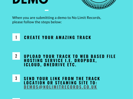 How to submit a demo to No Limit Records