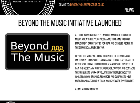 Beyond the Music initiative launched