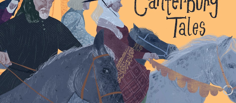 Artist Hazel P. Mason Funds Successful Illustrated Canterbury Tales Kickstarter
