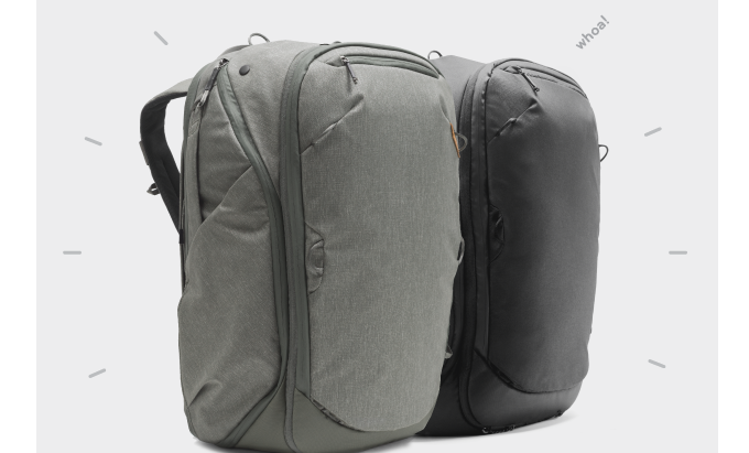 The Travel Line: An All-In-One Backpack Crowdfunded Through Kickstarter