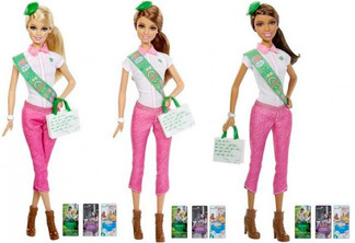 A Girl Scout Barbie? No, just no.