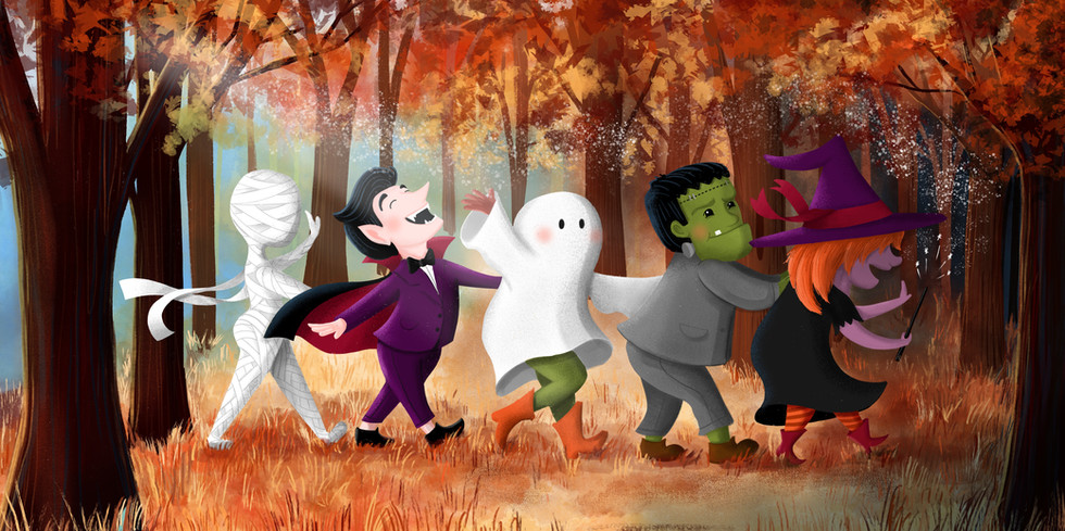 Halloween Conga Line