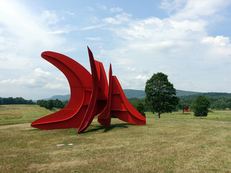 紐約近郊賞楓推薦:Storm King Art Center