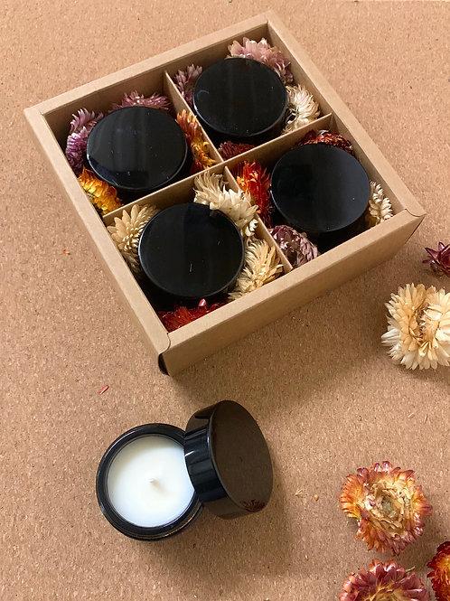 coffret bougies du voyage - parfums au choix
