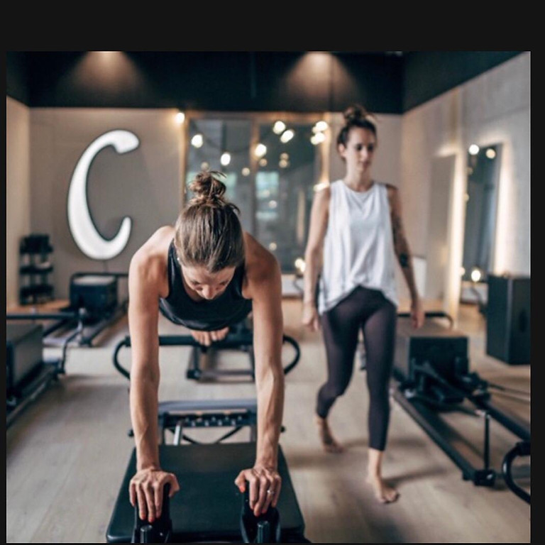 90 Minutes Pilates Reformer Session and Healthy Dinner
