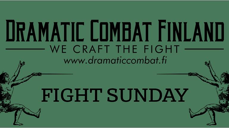Fight Sunday: Basics of Stage Combat