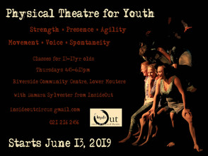 Physical Theatre Workshops for Youth