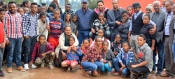 SDE with Ethiopian artists