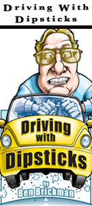 'Driving with Dipsticks' column illustrations