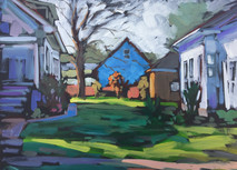 Jed Dorsey - That One Morning - 16x20 - SOLD
