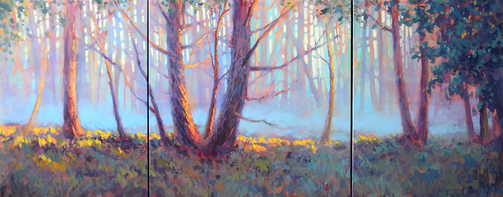 Jed Dorsey - Tranquility - 24x60 - $3900