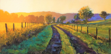 The Jed Dorsey - Golden Hour - 24X48 - SOLD