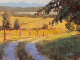 Jed Dorsey - Farm Days - 12x16 - SOLD