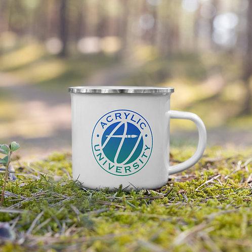 AU Camping Mug - Learn. Create. Connect.