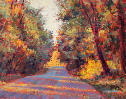 Jed Dorsey - October Falls - 11x14 - Available