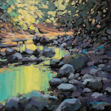 Jed Dorsey - Where The Trail Ends - 12x12 - Not Available