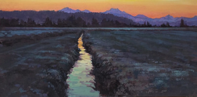 Jed Dorsey - A Morning Together - 15x30 -SOLD