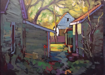 Jed Dorsey - Second Chances - 18x24 - SOLD