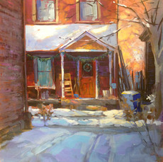 Jed Dorsey - Home - 24x24 - SOLD