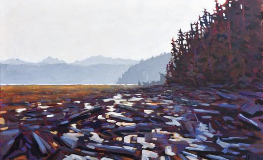 Jed Dorsey - Our Beach (Camano Island, WA) - SOLD